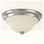 Feiss FM250CH Claridge Small Flush Mount Ceiling Light