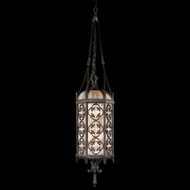 Fine Art Lamps 325182 Costa Del Sol 54 inch outdoor hanging light in Marbella wrought iron