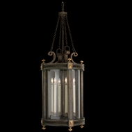 Fine Art Lamps 564382 Beekman Place 53 inch outdoor hanging lantern in solid brass