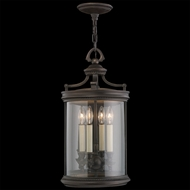 Fine Art Lamps 538282 Louvre 33 inch outdoor hanging lantern in bronze