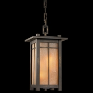 Fine Art Lamps 400880 Capistrano 29 inch outdoor hanging lantern in bronze patina