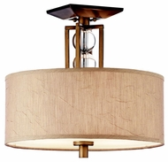 Kichler 42193CMZ Celestial Semi-flush Mount Ceiling Light Fixture
