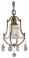 Feiss F26241OBZ Valentina Mini Pendant Light / Semi-Flush Ceiling Light