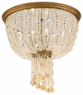 Corbett 10733 Bali Three Lamp Flush Mount Ceiling Light