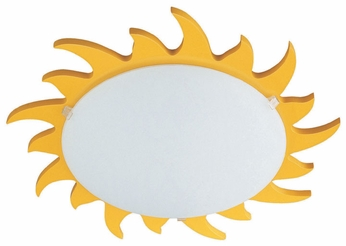 Philips 706140648 Kidsplace 14.6 Inch Diameter Sun Ceiling Lighting Fixture