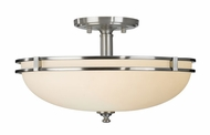 Feiss SF256-BS Kellenberg Modern Semi-Flush Ceiling Fixture
