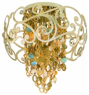Corbett 12134 Le Tresor Semi-Flush Ceiling Light