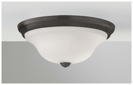 Feiss FM361ORB Beckett Medium Modern Flush Mount Ceiling Light Fixture in Oil Rubbed Bronze
