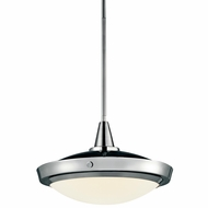 Kichler 42136CH Fremont Large 15  Chrome Convertible Overhead Lighting/Modern Pendant Lighting