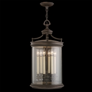 Fine Art Lamps 538182 Louvre 38 inch outdoor hanging lantern in bronze