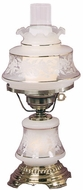 Quoizel Satin Lace Accent Lamp in French Gold Flemish