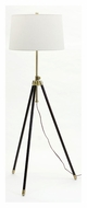 House of Troy TR201-AB Tripod Antique Brass 46 to 60 Inch Tall Floor Lamp Lighting
