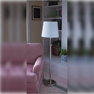 House of Troy TH701-PN Townhouse 46 to 58 Inch Tall Polished Nickel Finish Transitional Floor Lamp Light