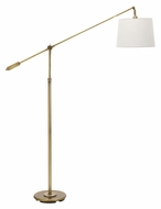 House of Troy AB100-AB Abington Adjustable Down Bridge Antique Brass Floor Lamp