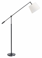 House of Troy AB100-OB Abington Oil Rubbed Bronze Finish Adjustable 36 Inch Tall Floor Lamp