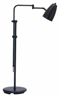 House of Troy C100-OB Cambridge Oil Rubbed Bronze Finish Transitional Adjustable Floor Lamp Light