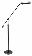 House of Troy FL10-MB Grand Piano Mahogany Bronze Adjustable Height Transitional Floor Lamp Light