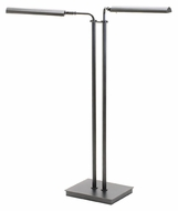 House of Troy G300-2-GT Generation Adjustable Granite Finish 37 to 46 Inch Tall Double LED Floor Lamp