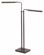 House of Troy G300-2-HB Generation LED Hammered Bronze Finish 37 to 46 Inch Tall Floor Lamp Light