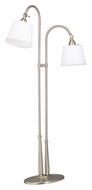 Kichler 74112NIW Blaine 54 Inch Tall 2 Light Transitional Floor Lamp