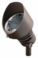 Kichler 16012AZT 10 Degree Spot Light Textured Architectural Bronze LED Accent Light