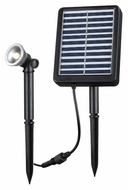 Kenroy Home 60501 Solar Spotlight 1W 7 Inch Tall Landscape Lighting