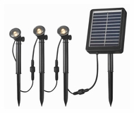 Kenroy Home 60504 Solar Spotlight 3 Light String
