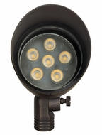 Hinkley 16504MZ-LED30 Hardy Island 12V 8.5W 30-degree LED Brass Exterior Spot Light