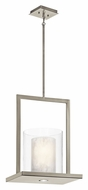 Kichler 42550CLP Triad 21 Inch Tall Large Classic Pewter Finish Pendant Lamp
