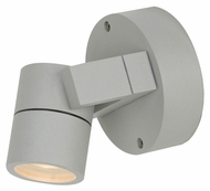 Access 20351MG-SAT Satin Nickel Finish Outdoor Security Light With LED Option