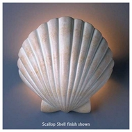 Justice Design 3730 Ambiance Scallop Shell Wall Sconce (ADA)