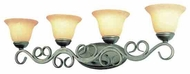 Trans Globe 2184 Bathbars and Sconces 4-light Vanity Light
