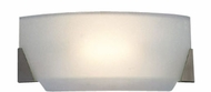 Cirrus Acid Frost Glass Halogen Bathroom Light Fixture