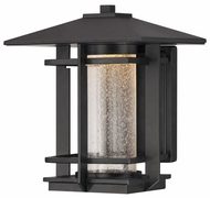 Quoizel DEN8508K Destin Black Finish 10.5 Inch Tall Outdoor Wall Lighting