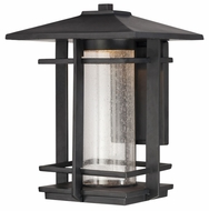 Quoizel DEN8510K Destin Outdoor 15 Inch Tall Lantern Wall Sconce
