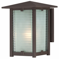 Quoizel CYP8408WT Cypress Outdoor Medium Wall Sconce with Bronze Finish