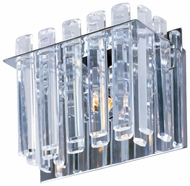 Maxim 39911BCPC Facets Contemporary 1-light Crystal Wall Sconce