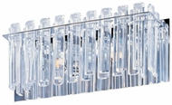 Maxim 39912BCPC Facets Small 2-light Modern Crystal Bathroom Vanity Lighting