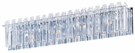 Maxim 39914BCPC Facets Large Contemporary 4-light Crystal Vanity Lighting