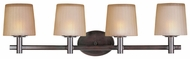 Maxim 21514DWOI Finesse Large 4-light Oil-Rubbed Bronze Bath Lighting