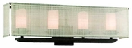 Troy B2204WB Raffia 4-Lamp Vanity Light