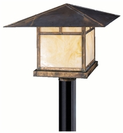 Kichler 9926CV La Mesa Canyon View 17 Inch Diameter Craftsman Outdoor Pole Lighting Fixture