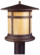 Kichler 9945CV Tularosa Craftsman Outdoor Post Lamp - Canyon View Finish