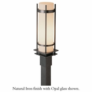 Hubbardton Forge 34-5894 Banded Outdoor Post / Pier Mount Light