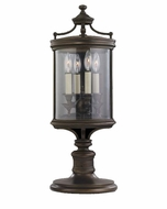 Fine Art Lamps 559483 Louvre 28 inch outdoor pier/post mount light in bronze