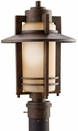 Kichler 9959AGZ Creston 17 Inch Outdoor Post Lantern