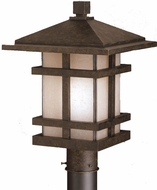 Kichler 9529AGZ Cross Creek 17 Inch Outdoor Post Lantern