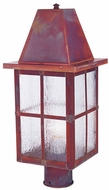 Arroyo Craftsman HP-8 Hartford Craftsman Outdoor Light Post - 20.25 inches tall