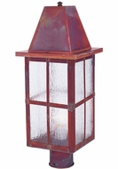 Arroyo Craftsman HP-8L Hartford Craftsman Outdoor Light Post - 22.25 inches tall