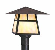 Arroyo Craftsman CP-8 Carmel Craftsman Outdoor Post Light - 6.5 inches tall
